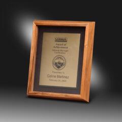 Bronze Acrylic Plaque