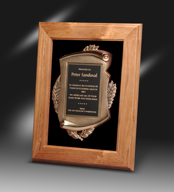 Bronze Frame Plaque | Lane Award