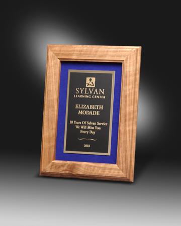 Frame Style Plaque | Lane Award