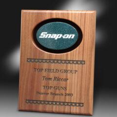 Lasered Genuine Hardwood Awards