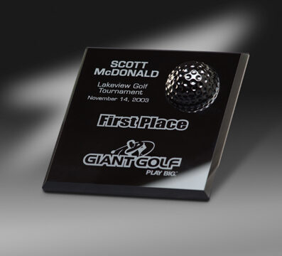 black-glass-golf-award