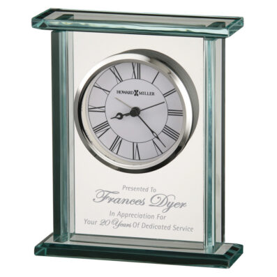 Cooper Glass Carriage Alarm Clock