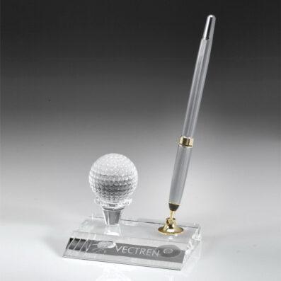 Optic Crystal Golf Pen Set