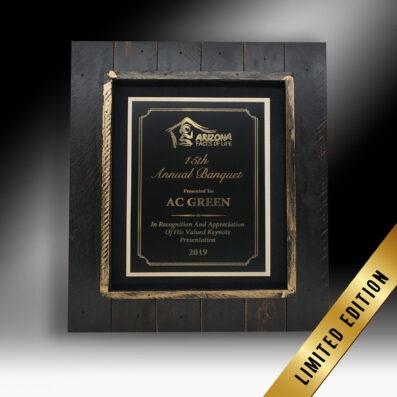 Gold Trove Frame Award