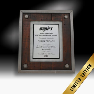 Studded Bolt Frame Award