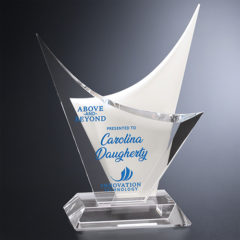 Arctic White Glass Awards